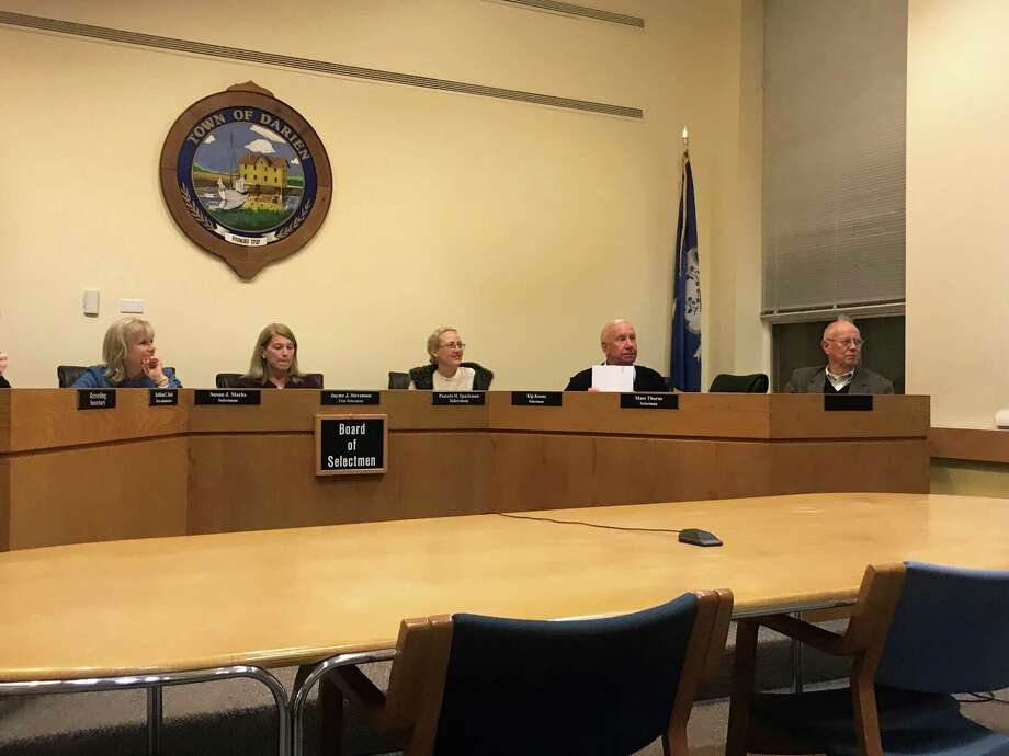 The Board of Selectmen. Taken Nov. 13. Photo: Lynandro Simmons /Hearst Connecticut Media