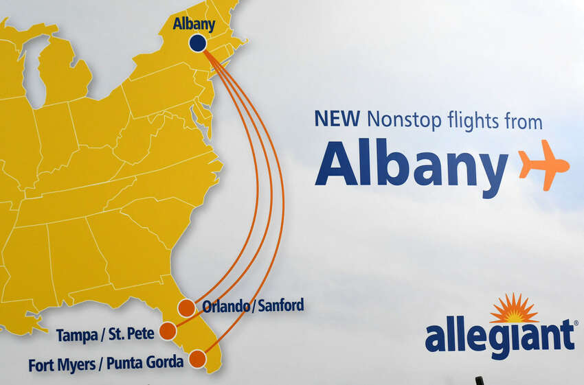 Allegiant is the latest ultra-low cost airline to fly between Albany and Florida.