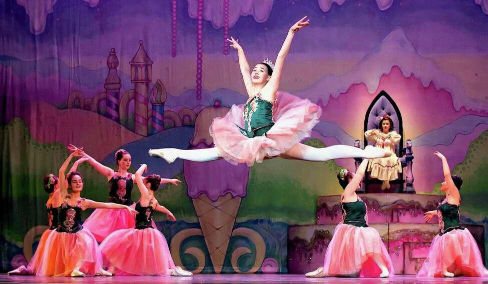 Samantha Percy as the Sugar Plum Fairy. (Provided)