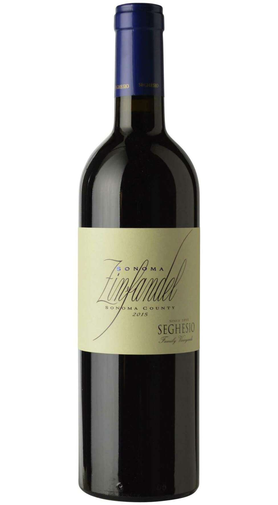 Seghesio Sonoma Zinfandel. (Provided photo.)