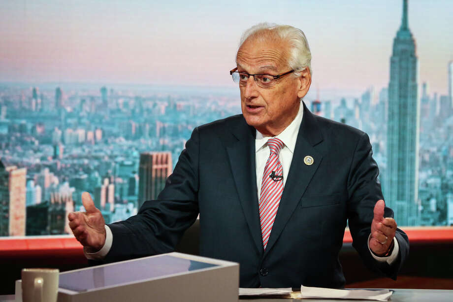 Rep. Bill Pascrell, D-N.J., speaks during a television interview in New York on Oct. 17, 2017. Photo: Bloomberg Photo By Christopher Goodney / Bloomberg