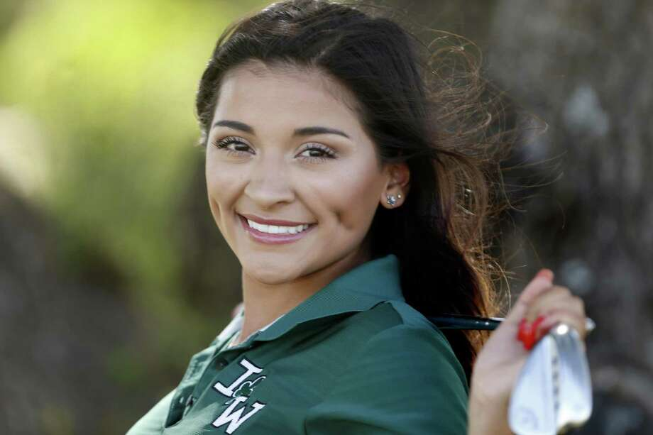 Incarnate Words' Camryn Carreon is the girls player of the year. 10 athletes named to the 2018 Express-News All-Area Super Team for golf at TPC on Wednesday, May 30, 2018. Photo: Ronald Cortes, For The San Antonio Express News / 2018 Ronald Cortes