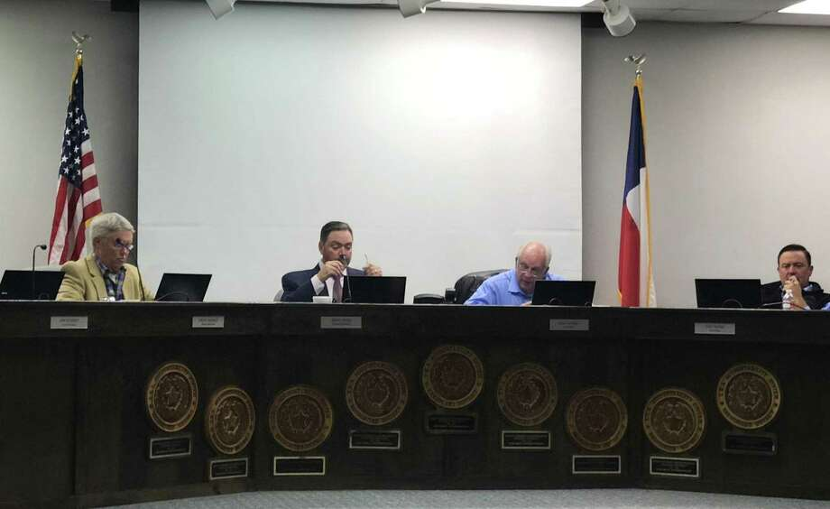 Prompted by recapture payments and lower than projected enrollment growth, the Montgomery School Board unanimously approved a hiring freeze during the board meeting Tuesday night. Photo: Meagan Ellsworth / Meagan Ellsworth