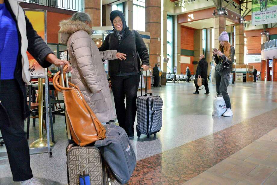 Amtrak is offering a buy one, get one free promotion on one-way and roundtrip rail tickets through Monday, Feb. 18, 2019. (John Carl D'Annibale/Times Union) Photo: John Carl D'Annibale, Albany Times Union
