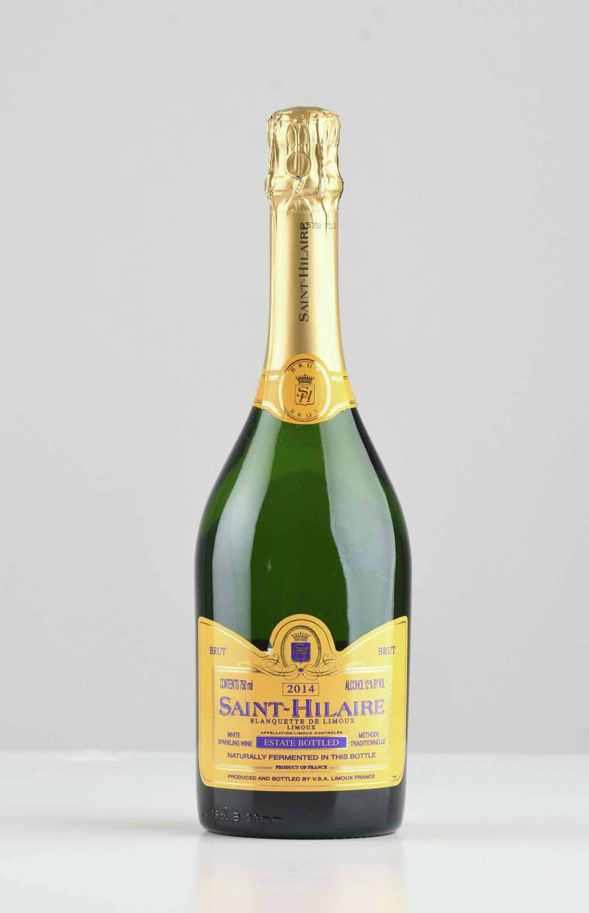 Saint Hilaire sparkling on Thursday, April 26, 2018, at the Times Union in Colonie, N.Y. (Will Waldron/Times Union)