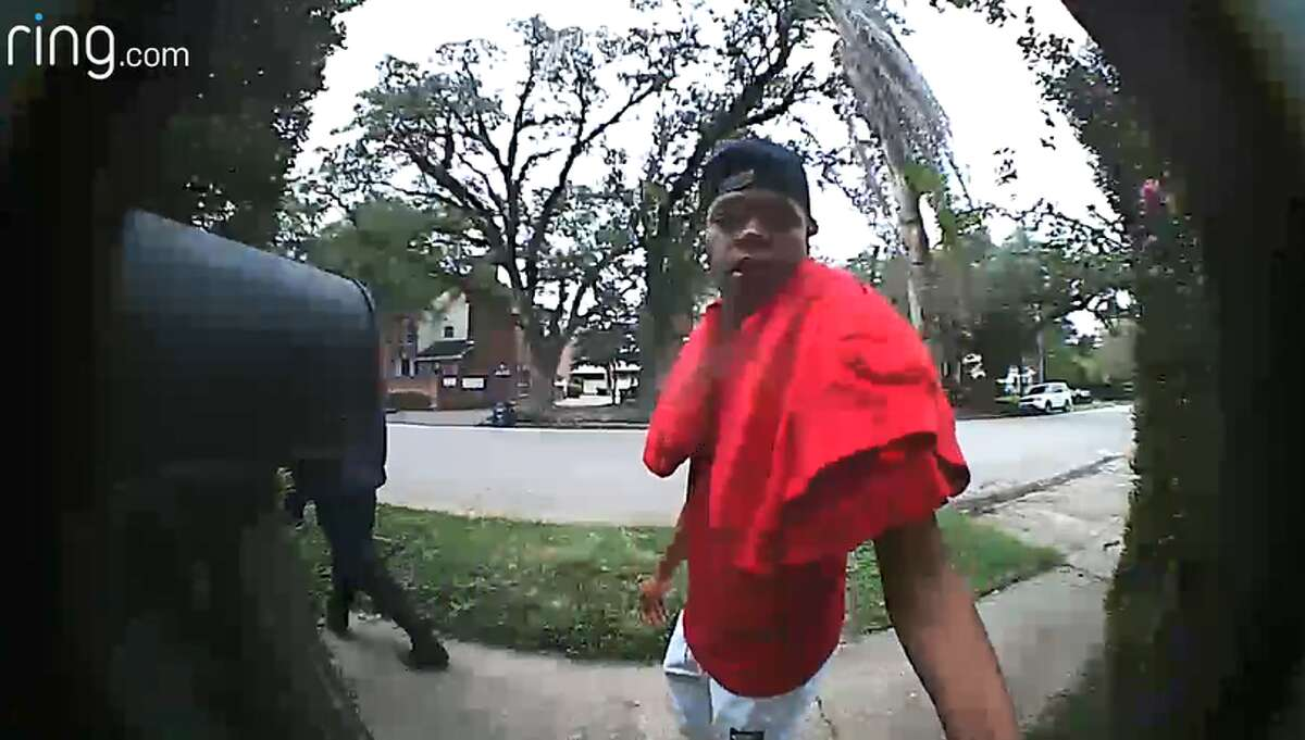These three men were caught on video stealing packages from Houston area homes in November. Do you recognize them ?