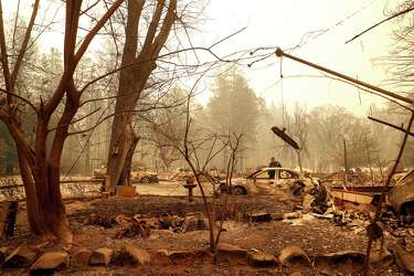 Lawsuit: Poorly maintained PG&E transmission tower started Camp Fire