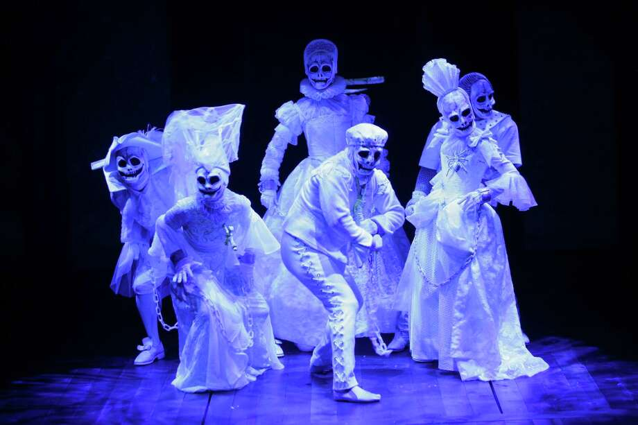 "The Company in the Alley Theatres ""A Christmas Carol A Ghost Story of Christmas."" Photo: Photo T. Charles Erickson / Photo T. Charles Erickson / © T Charles Erickson"