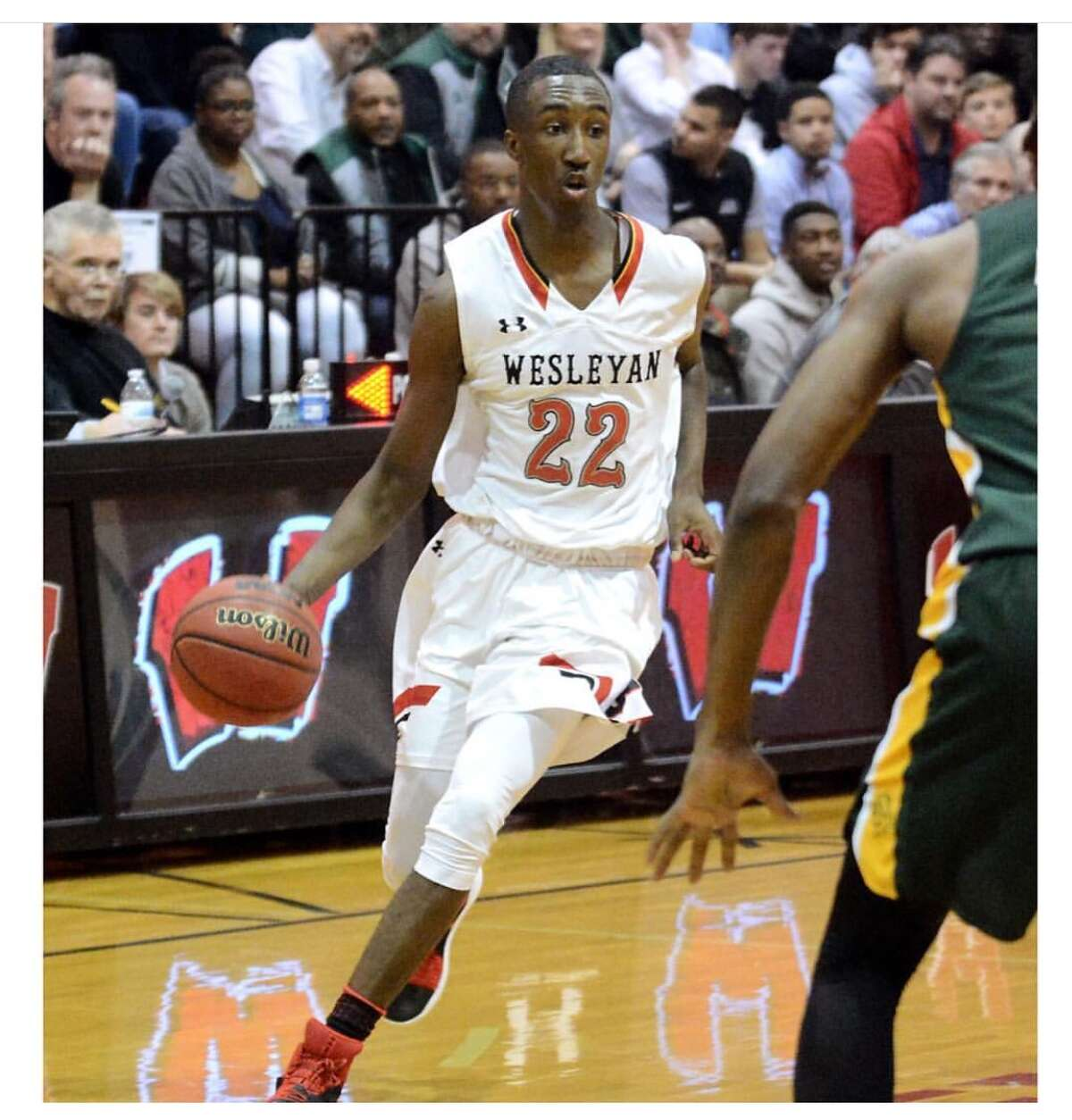 New Siena commit Shawn Walker Jr. played at Wesleyan Christian in North Carolina before transferring to Bishop Sullivan Catholic over the summer. (Courtesy of Shawn Walker Jr.)