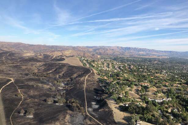Los Angeles County Sheriff Jim McDonnell shared aerial photos of his jurisdiction after the Woolsey Fire.