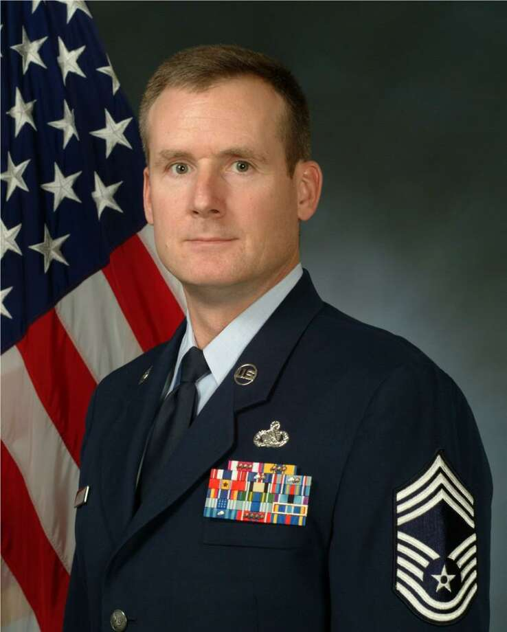 Jeffrey DeWitt, a retired U.S. Air Force master chief sergeant, has been named chairman of the newly formed Norwalk Veterans Liaison Committee to hook up returning veterans with local services. Photo: Contributed Photo / Norwalk Hour contributed
