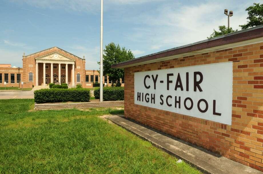 Cy-Fair High School (Freelance photo by Jerry Baker) Photo: Jerry Baker, Freelance / For The Chronicle