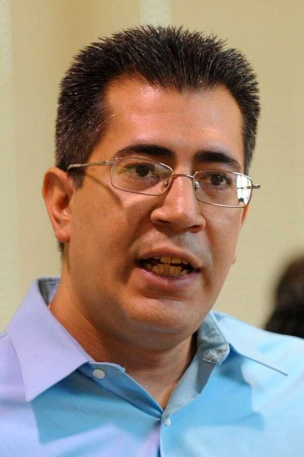 State Representative Ezequiel Santiago, Oct. 4, 2013. Photo: Cathy Zuraw / Cathy Zuraw / Connecticut Post