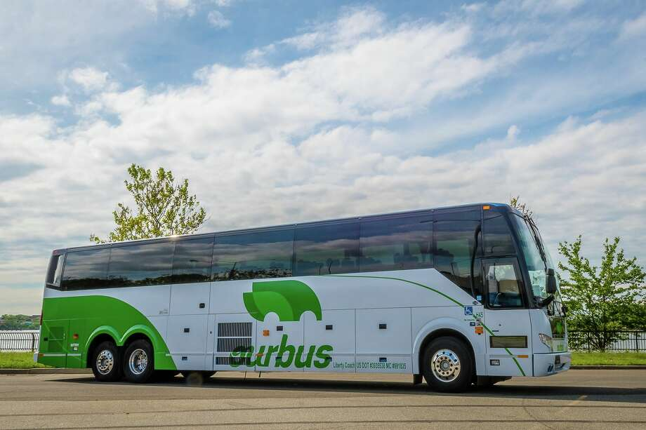 OurBus is expanding into Texas. Photo: OurBus Facebook Page
