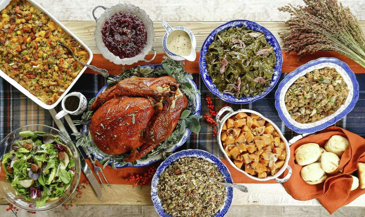 A traditional Thanksgiving dinner is 48 cents cheaper this year, coming in at $48.01 for 10 people, according to the Texas Farm Bureau.