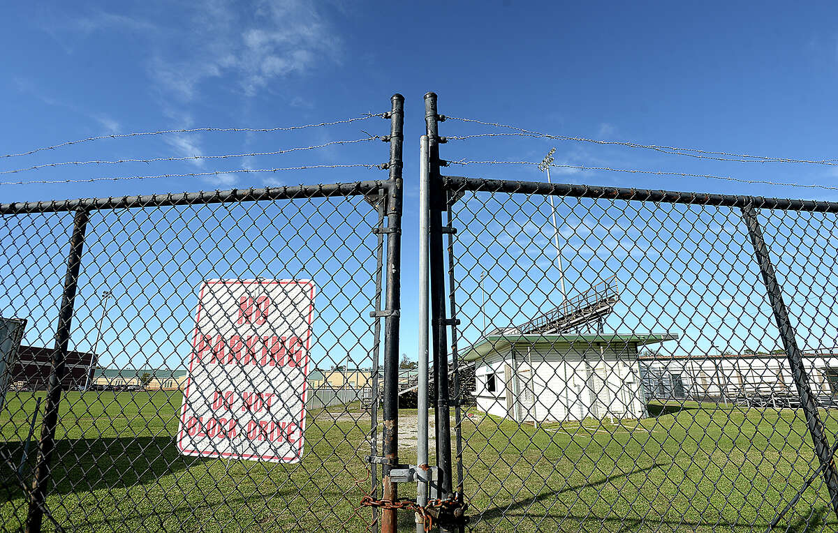 The old football stadium behind South Park Middle School is going to be demolished, per a recent decision by the Beaumont ISD board. Photo taken Wednesday, November 14, 2018 Kim Brent/The Enterprise