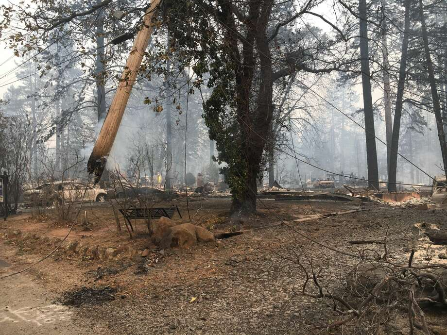 The Butte County Sheriff's Office is investigating an officer-involved shooting that occurred Thursday in the Camp Fire evacuation zone, authorities said.  Photo: Jeff Hill