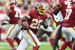 Resurgent running back Adrian Peterson has found a new home in Washington where he's on pace for a 1,000-yard season.