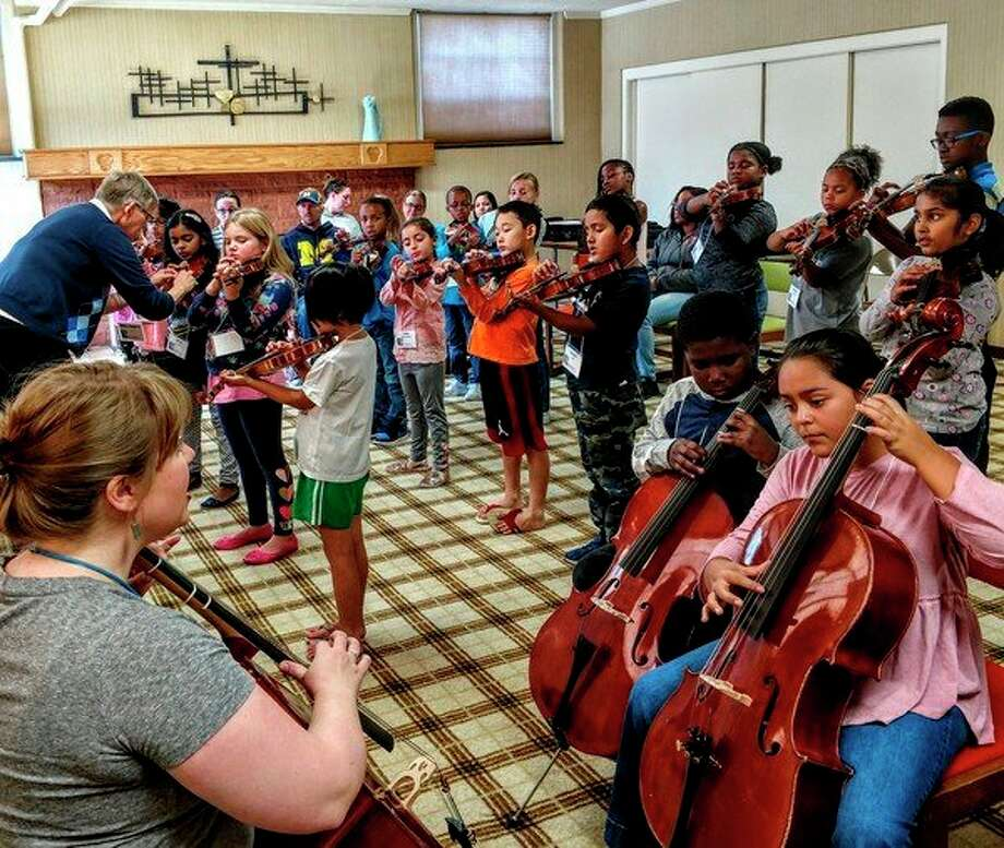 Saginaw Strings will feature 88 students from six classes in the 2018 fall concert set for Nov. 17, at First Presbyterian Church, 121 S. Harrison St., in Saginaw. (photo provided)