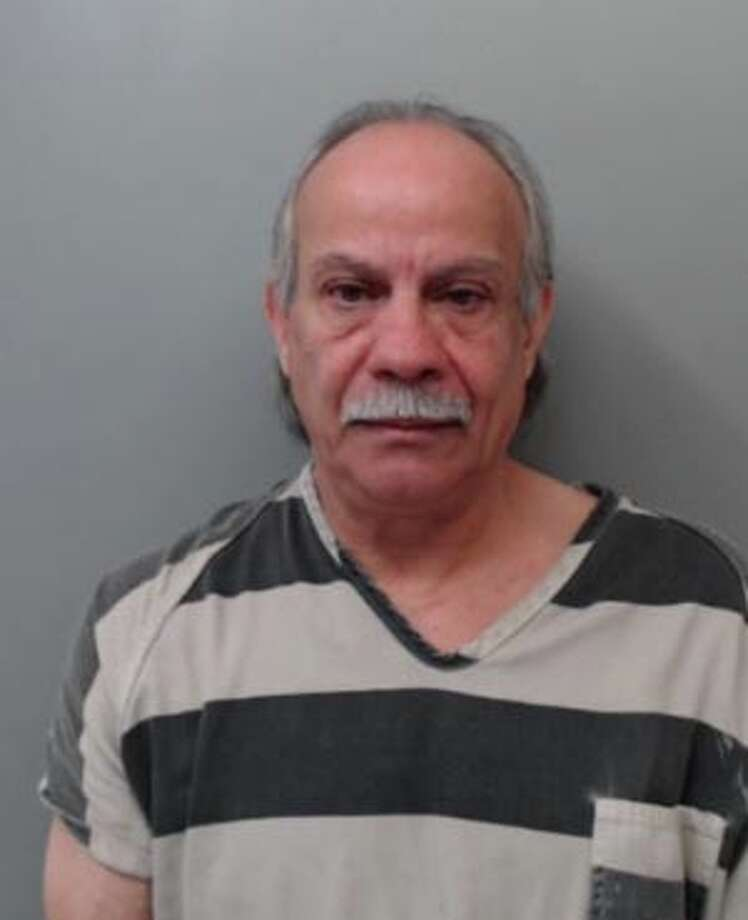 Eric John Hale, 60, was charged with assault, family violence on Monday. Photo: Webb County Sheriff's Office