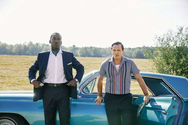 "Mahershala Ali, left, and Viggo Mortensen in ""Green Book."""