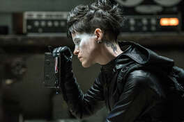 "This image released by Sony Pictures shows Claire Foy in a scene from ""The Girl in the Spider's Web."""