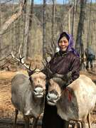 Zorigt and Otgonbayar, who are nomadic reindeer herders in Mongolia, will host Airbnb guests who can use three-word geographic locator technology from What3Words to find them.