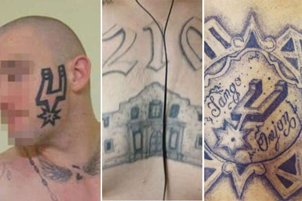 Orejon In prisons across Texas, members of a notorious gang with roots in San Antonio mark themselves for life with tattoos featuring icons from their native city.