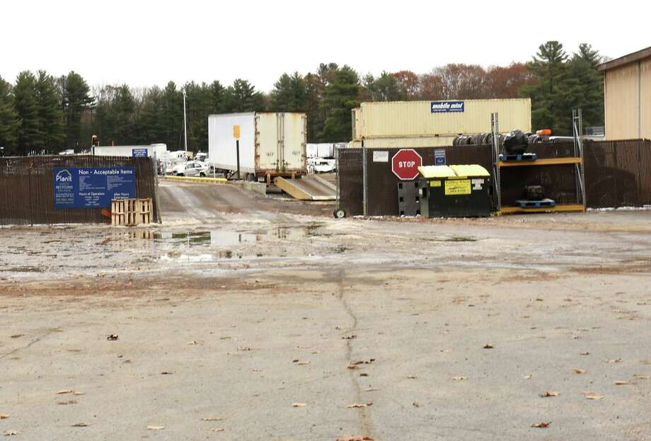 Exterior of Plan It Waste, Recycling & Salvage on Thursday, Nov. 15, 2018 in Ballston Spa, N.Y. Kim White and other neighbors like Regine Brate are complaining about the noise of the operation. (Lori Van Buren/Times Union) Photo: Lori Van Buren, Albany Times Union / 20045487A