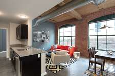 The first batch of apartments in Bridgeport's Cherry Street Lofts are ready for move-in.