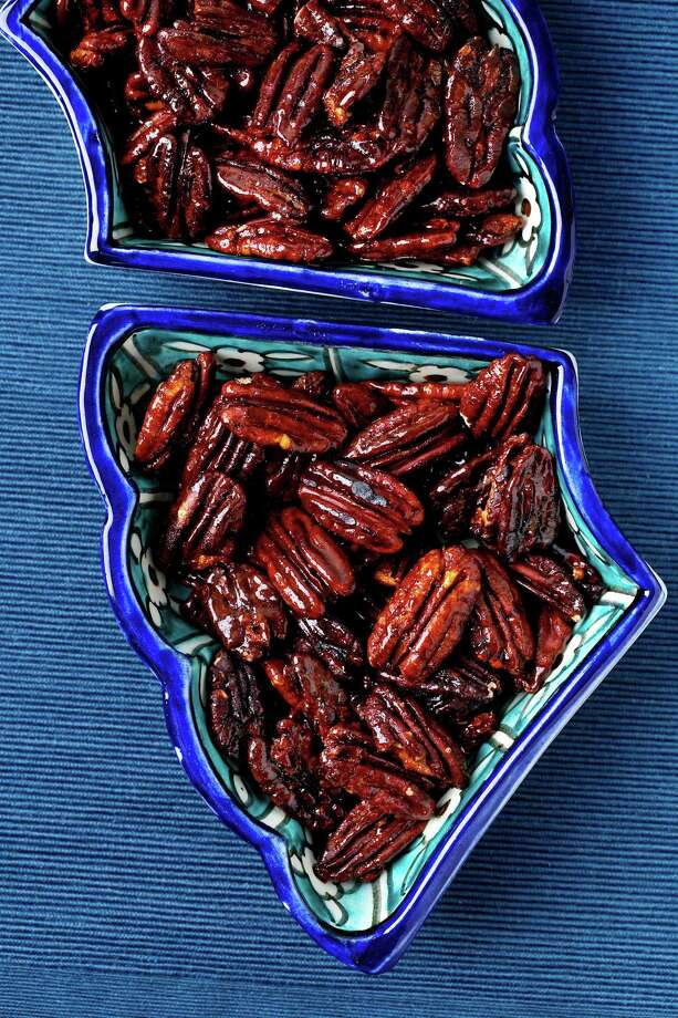 Nuts bring the heat and the sweet
