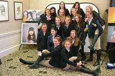 """Above, members of the teen leadership program pose for a picture at the """"Jump for Joy"""" gala for the New Canaan Mounted Troop on Nov. 10 at Wee Burn Country Club in Darien."""