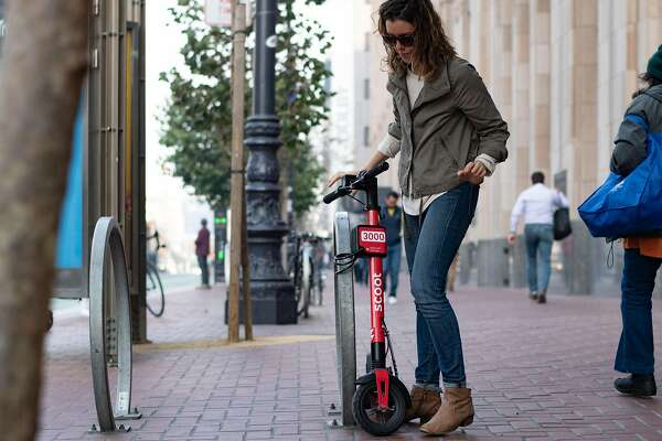 Thieves snap up rental scooters in SF - SFChronicle com