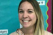 Rogers Park Middle School math teacher Kim Moran has been selected as a Connecticut state finalist for the Presidential Awards for Excellence in Mathematics and Science Teaching.