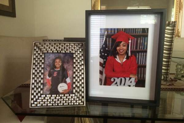 Family photos of Jade Robinson, 17, and Brianna Robinson, 19, who died in a spring break crash in Corpus Christi.