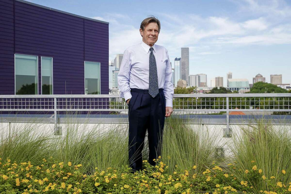 """Michael M. """"Mack"""" Fowler has served on the board of New Hope Housing for nearly 20 years, the last 18 as its board chairman. Since the nonprofit began, it has grown from a single small, downtown building that housed 40 to several buildings that help 1,600 individuals and families throughout Houston."""