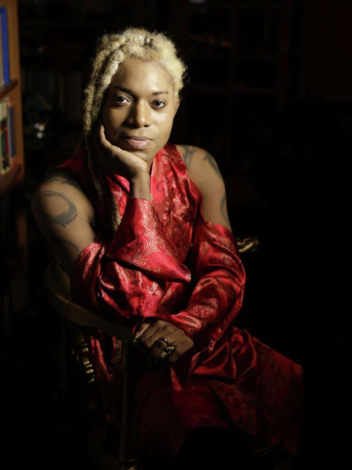 Tarik Rêver's health issues haven't stopped him from helping non-profit organizations who provide shelter and aid to Houston's transgender community.