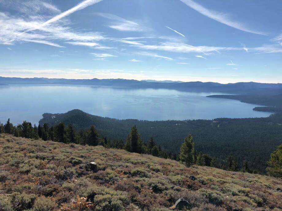 Lake Tahoe at the state line border, Mount Baldy Ridge, on a clear day with an AQI of 7, Nov. 15, 2018 Photo: Paul Altrocchi