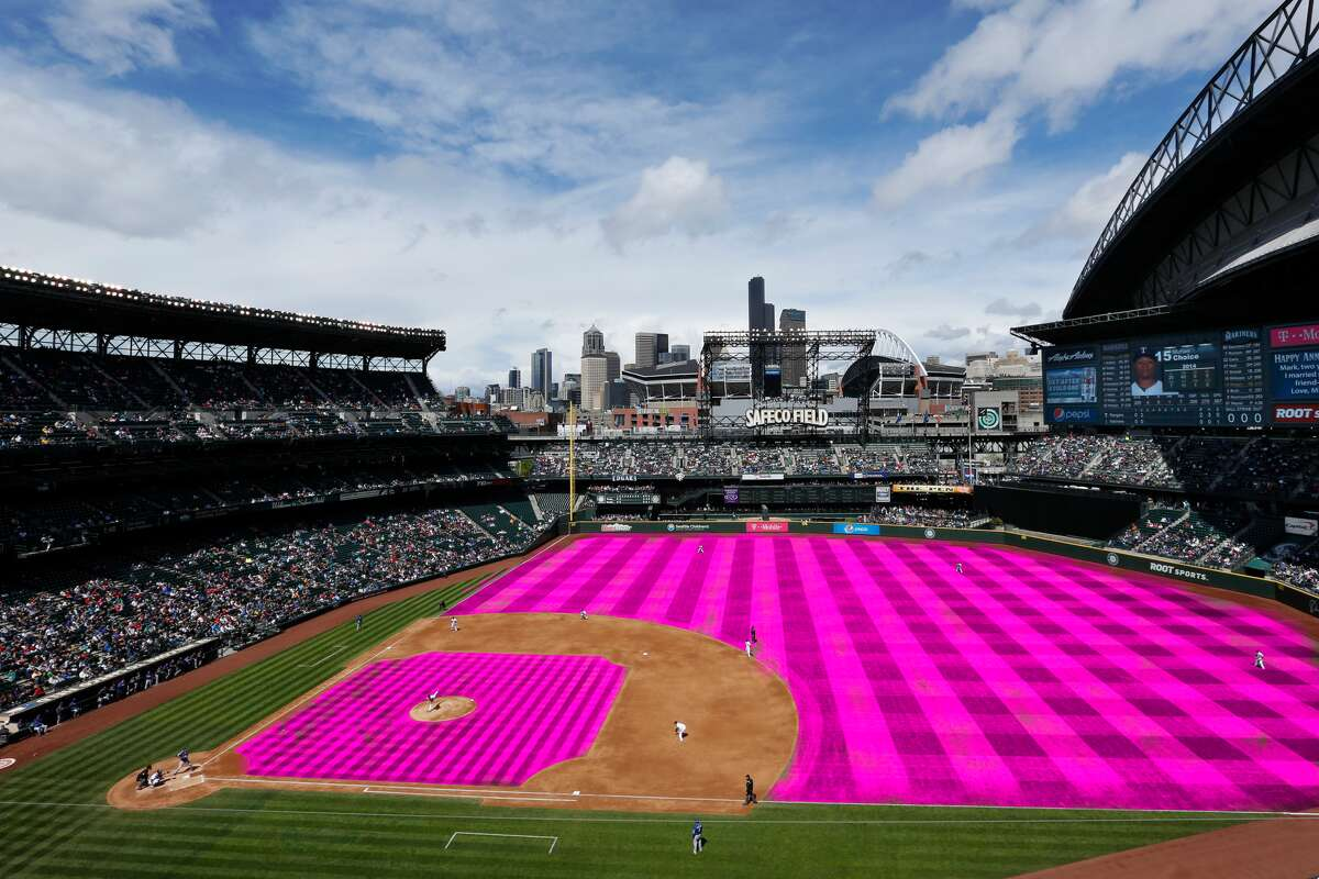 Let's warm up with something a little simple: the whole field colored in pink.
