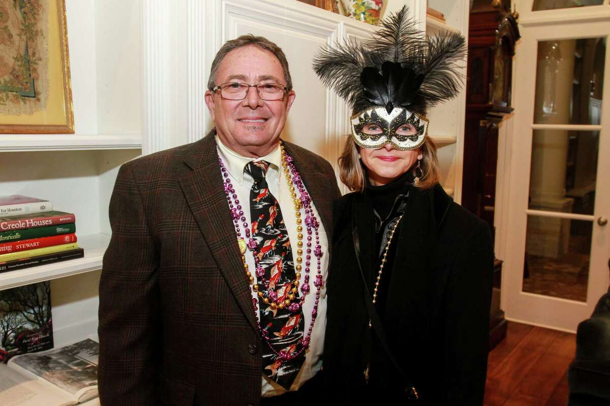Robert and Letitia Rayburn at the Bayou Preservation New Orleans style gala.