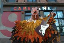 Dean Falcone's 22nd annual Thanksgiving Vomitorium musical variety show take place at Cafe Nine.