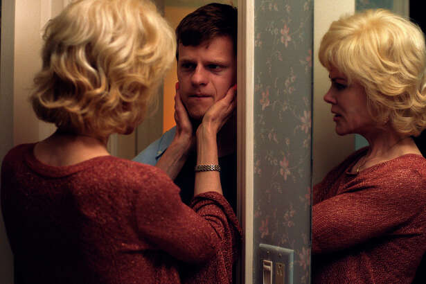 """This image released by Focus Features shows Nicole Kidman, left, and Lucas Hedges in a scene from """"Boy Erased."""" Hedges, 21, is everywhere this fall. The """"Manchester by the Sea"""" Oscar-nominated actor is starring in the upcoming gay conversion therapy drama """"Boy Erased,"""" as well as Jonah Hill's """"Mid90s,"""" and the addiction drama """"Ben Is Back,"""" alongside Julia Roberts. (Focus Features via AP)"""