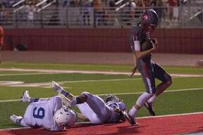 Splendora's Jagger Kennedy (12) rushed for 292 yards and four touchdowns in the regular season.