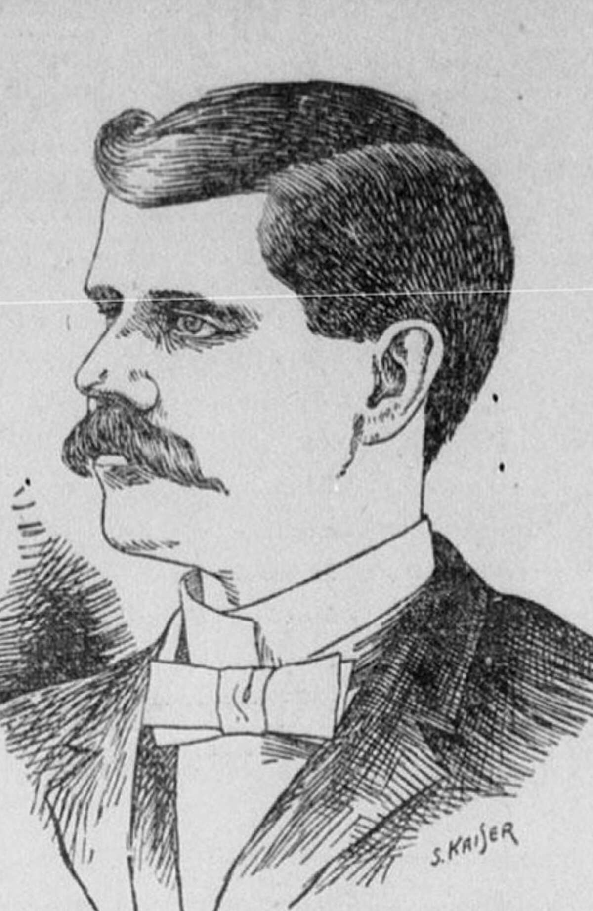 Benjamin Wettermark was a leading citizen of Nacogdoches when he absconded with bank funds in 1903.