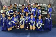 The 2018 West Haven Seahawks Pee Wee cheer team after taking 1st place in the Pop Warner New England Regional Championship earlier this month. The team will compete in the Pop Warner National Championship in early December in Orlando, Fla.