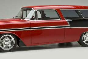 Dominator Street Rods will feature a 1956 Chevy Nomad at the International Auto Show.