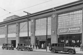 The Kleiber Motor Company of San Francisco completed a new factory in early 1924 at the corner of 10th and Folsom streets.