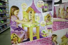 A Disney Princess Rapunzel Tower Vanity is shown at Walmart, 1118 Silber Rd., Monday, Nov. 12, 2018, in Houston.