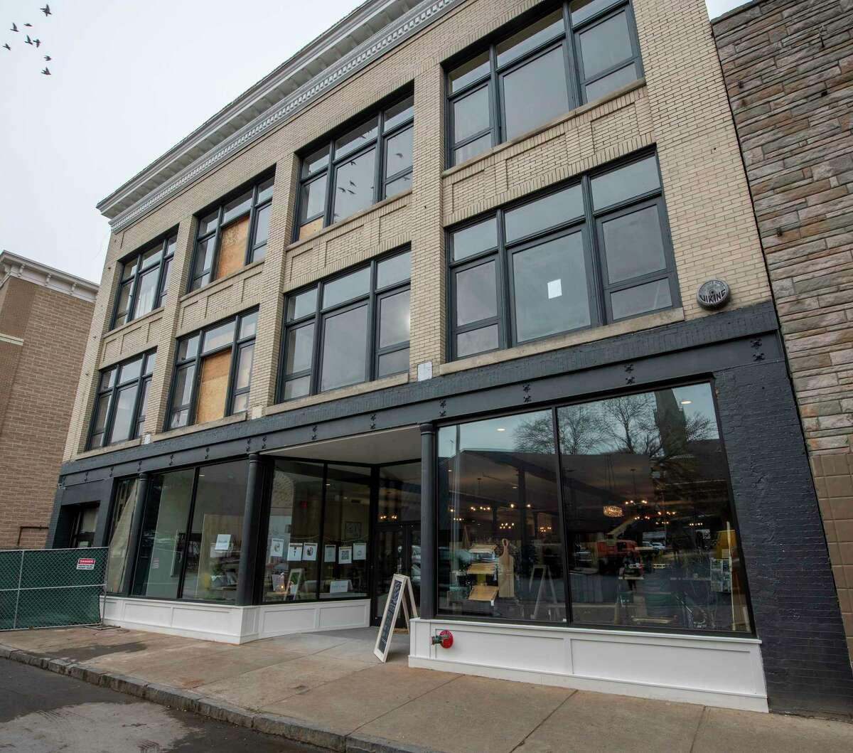Exterior view of the Clinton Street Mercantile at 148 Clinton Street Thursday Nov. 15, 2018 in Schenectady, N.Y. (Skip Dickstein/Times Union)
