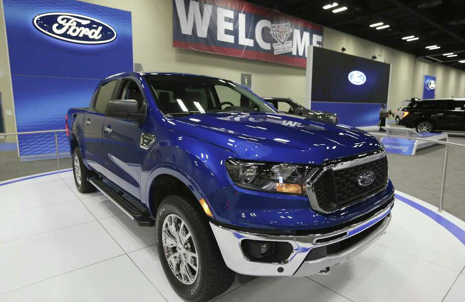 The newly redesigned Ford Ranger is on display at the 50th Annual San Antonio Auto & Truck Show. Photo: Kin Man Hui /Staff Photographer / ©2018 San Antonio Express-News